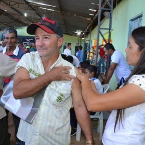 Vera Mendes realiza atividades voltadas para a saúde do homem