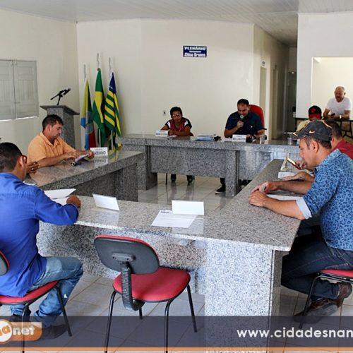 Câmara retorna aos trabalhos em Caridade do Piauí