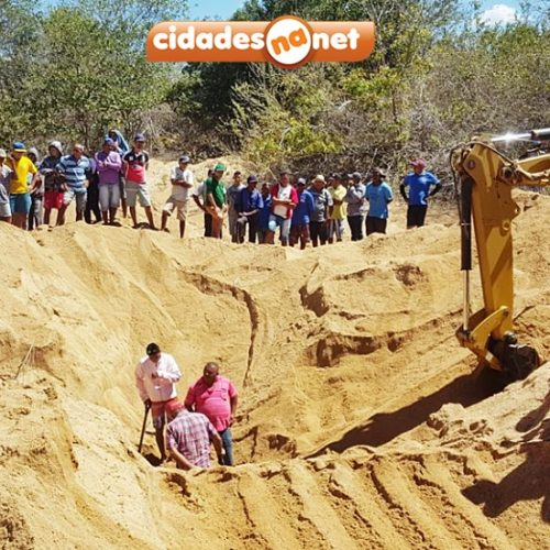 Homem morre soterrado em poço cacimbão no interior de Massapê; veja fotos