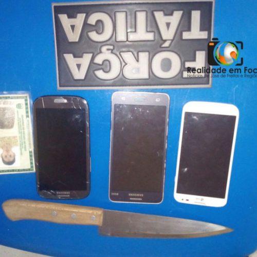 No interior do Piauí, dupla é presa acusada de praticar vários assaltos