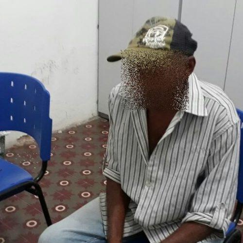 Idoso de 75 anos é preso suspeito de crime sexual contra criança de 5 anos no interior de Massapê