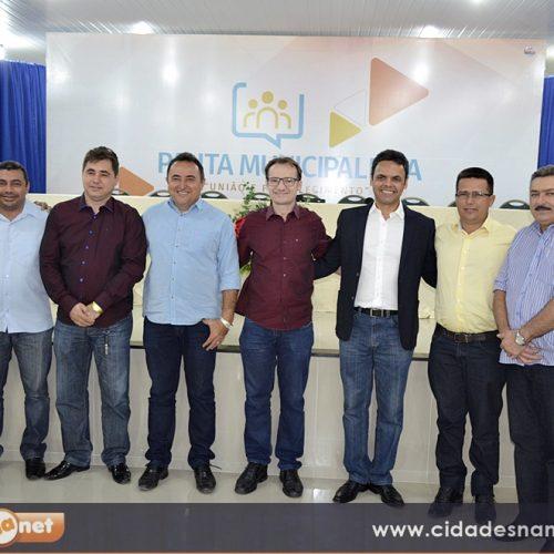 Prefeito Massapê do Piauí participa de Movimento Municipalista em Picos