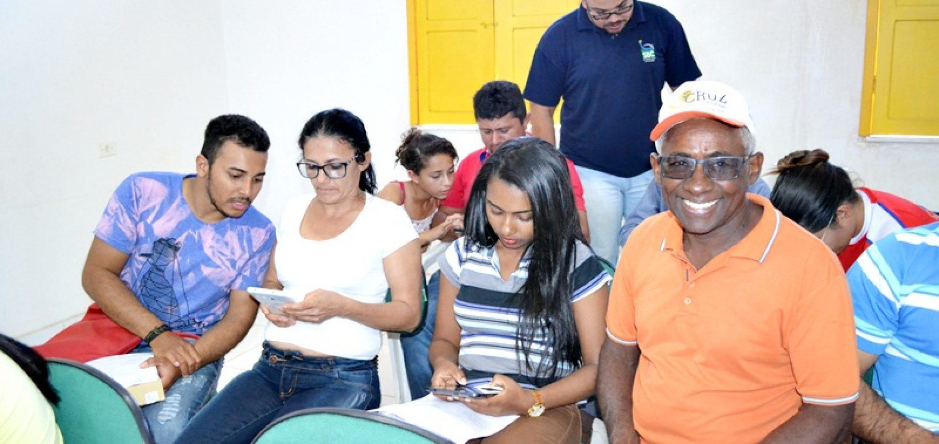 JACOBINA | Agentes Comunitário de Saúde são treinados para usar tablets