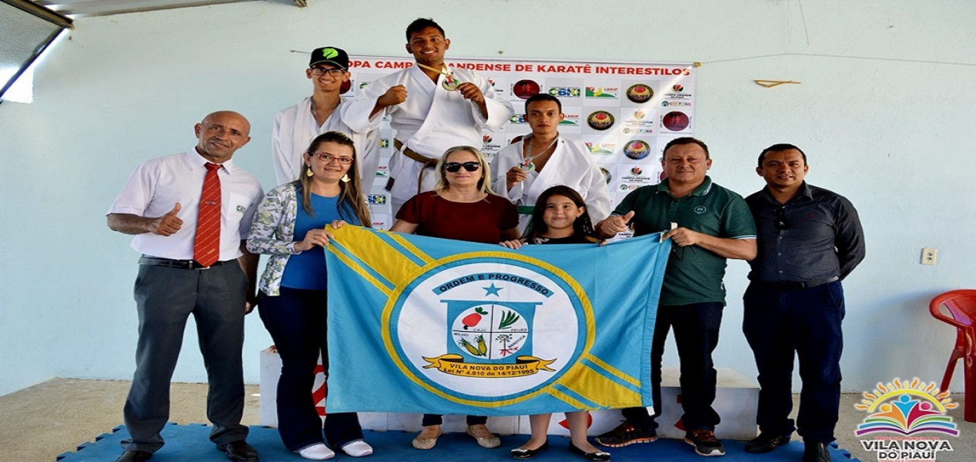 Vilanovenses são medalhistas na 1ª copa de Karatê Interestilos em Campo Grande do Piauí