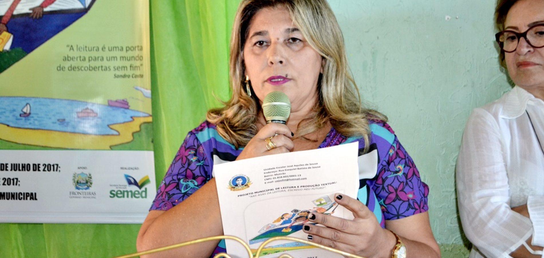 """FRONTEIRAS   Direção do """"Sousão"""" esclarece fato ocorrido com aluno na escola e desmente boatos. Veja!"""