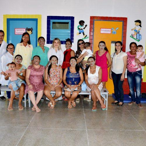 Em Vila Nova, Saúde intensifica campanha 'Agosto Dourado' sobre aleitamento materno