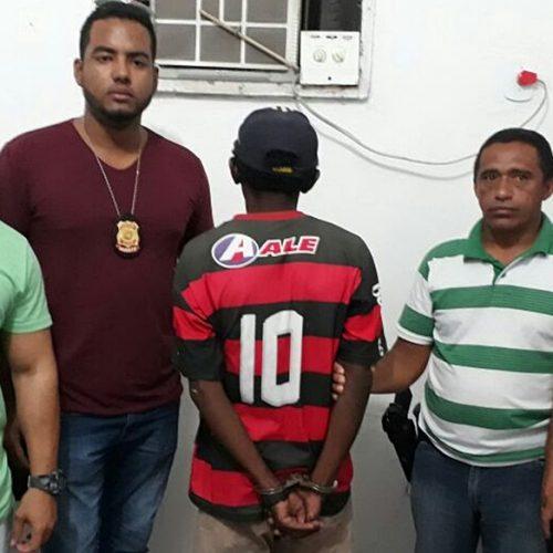 Preso acusado de matar vizinho a tiros no Centro de Jaicós