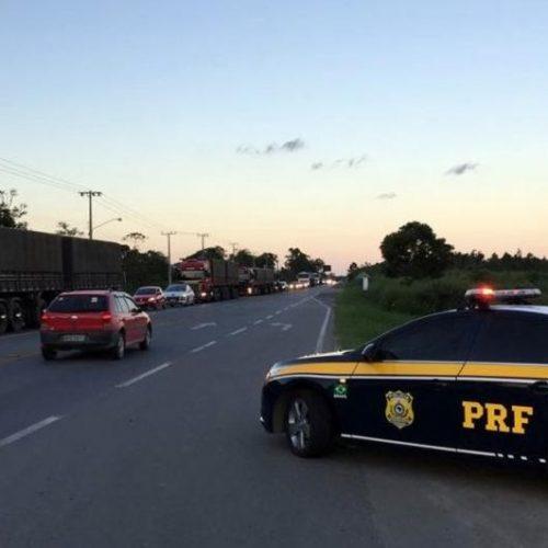 4ª Delegacia da PRF registrou no final de semana três acidentes nas rodovias federais que cortam a região