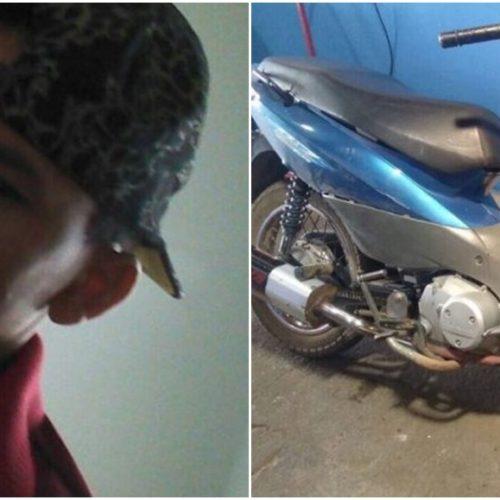 Acidente envolvendo duas motocicletas deixa jovem ferido na BR 407, em Jacobina do Piauí