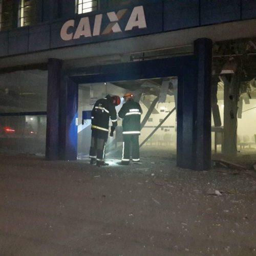 Câmera flagra explosão de agência bancária que vitimou uma pessoa