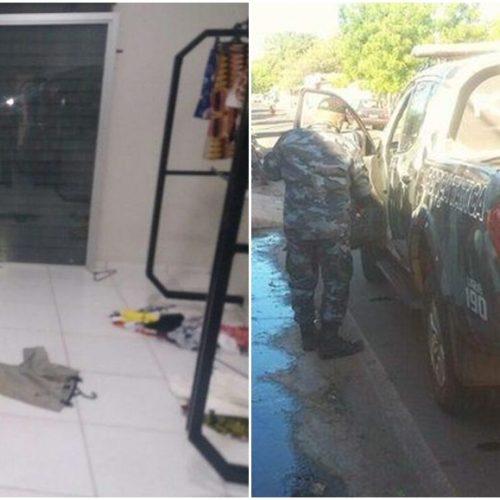 Ladrões arrombam loja e levam R$ 20 mil em mercadorias no Piauí