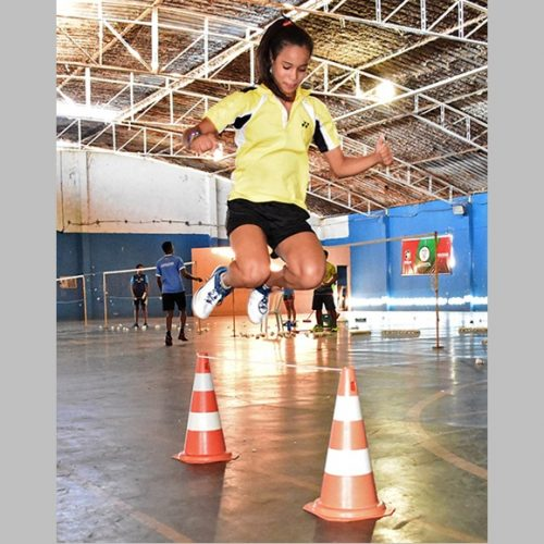 Piauienses se preparam para disputar Mundial Júnior de Badminton