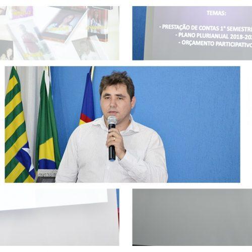 PADRE MARCOS   Prefeitura realiza audiência pública e mostra avanços em seis meses de gestão