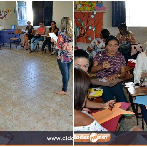 Com o tema 'Vivenciando o folclore através da leitura',  III Encontro Pedagógico é realizado em Jaicós; aulas terão início da segunda-feira (07)