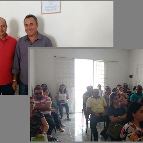 Reunião discute melhorias para a saúde, em Francisco Macedo – PI
