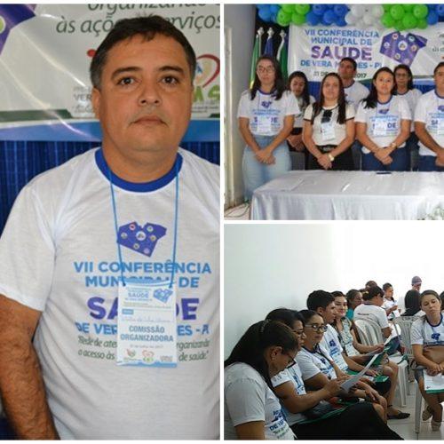 VII Conferência Municipal de Saúde é realizada em Vera Mendes
