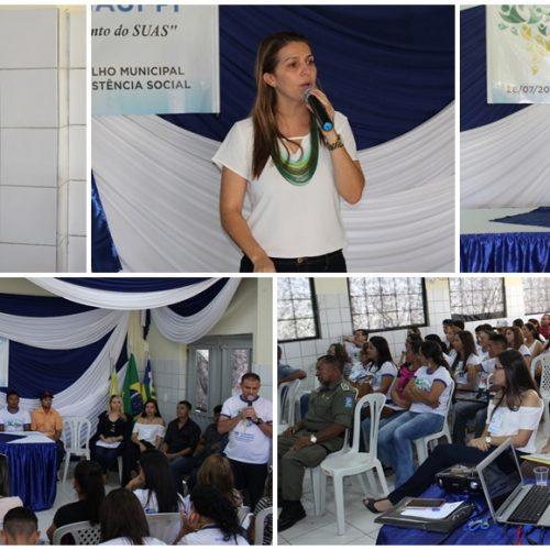 Caridade do Piauí realiza Conferência de Assistência Social e apresenta programa 'Criança Feliz'