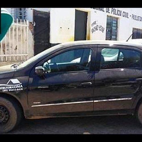 Força Tática apreende veículo com registro de roubo em Paulistana