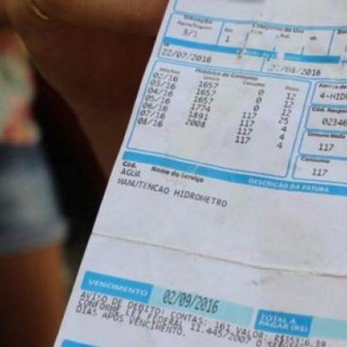 Consumidores com dívidas com Agespisa receberão duas contas de água