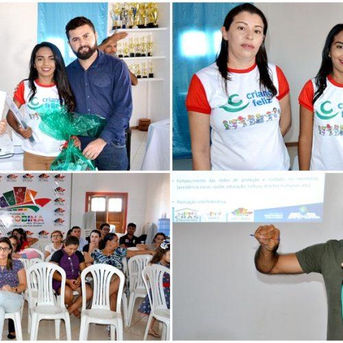 Programa Criança Feliz é lançado em Jacobina do PI e beneficiará 100 famílias