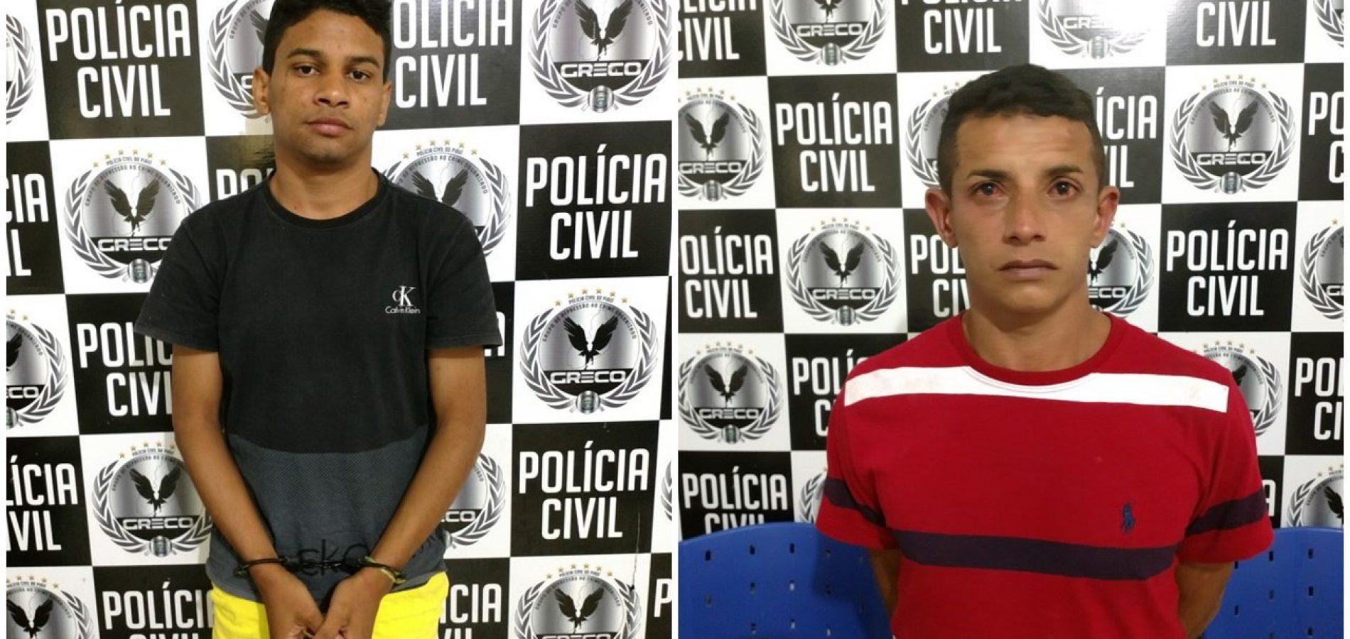 Dupla é presa com explosivos que seriam usados em estouro de caixa eletrônico no Piauí