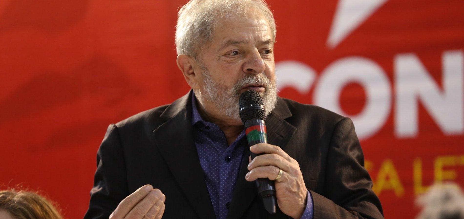 Pesquisas eleitorais terão que incluir o nome de Lula