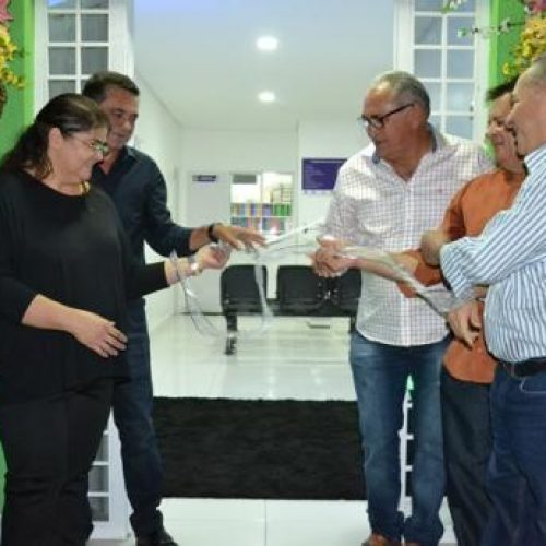Prefeitura de Geminiano inaugura Unidade Básica de Saúde