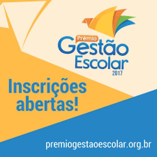 Prêmio Gestão Escolar 2017 tem inscrições até segunda (28)