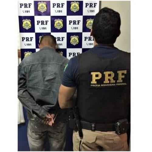 Foragido do estado de Minas Gerais é preso pela PRF no Piauí