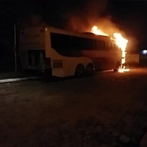 Mulher de detento é presa suspeita de participar de incêndios a ônibus no Piauí
