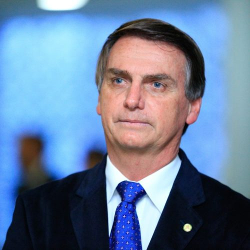 'Meu noivo chama-se Magno Malta', diz Jair Bolsonaro em referência a vice