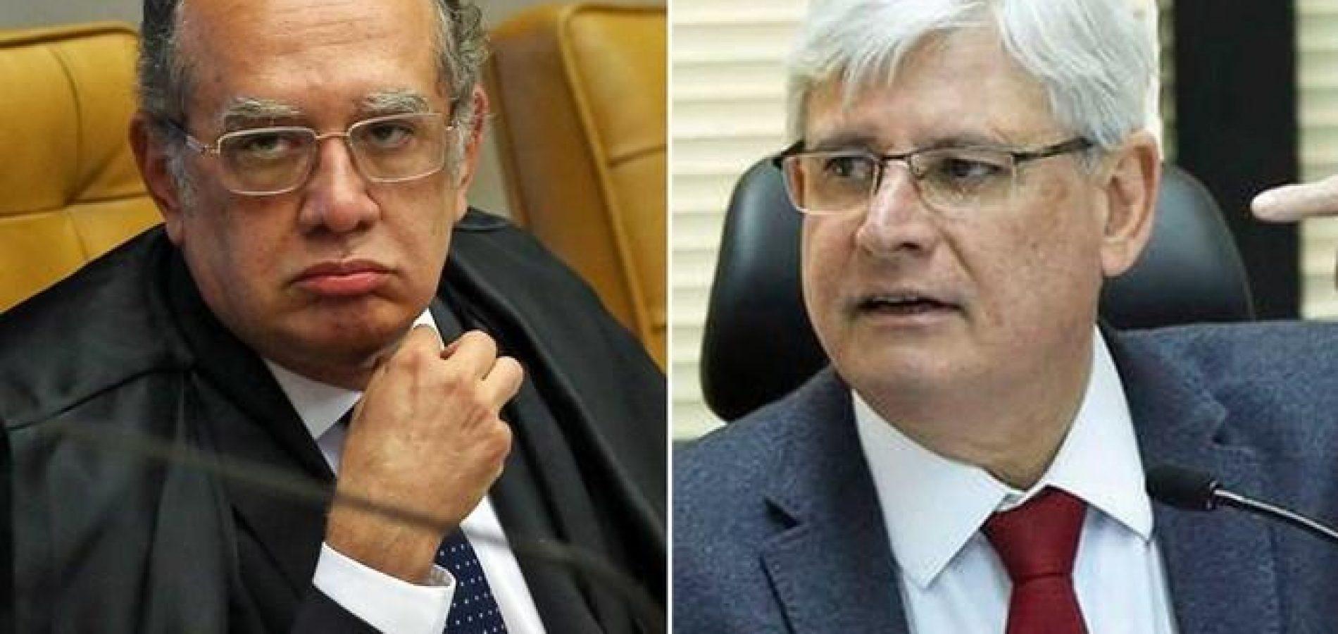 Janot pede impedimento de Gilmar Mendes em caso de Barata Filho