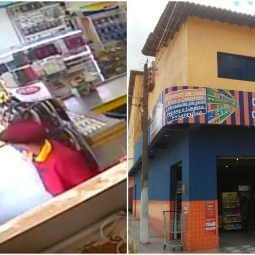 Em Marcolândia, dupla armada rende proprietário e assalta mercadinho