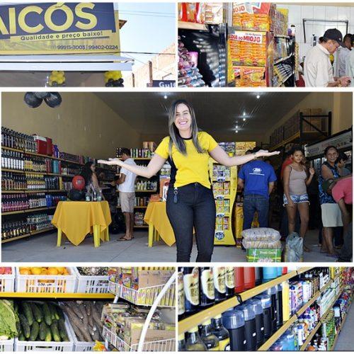 Mercantil Jaicós é inaugurado com novidades, preços baixos e sorteios; veja fotos