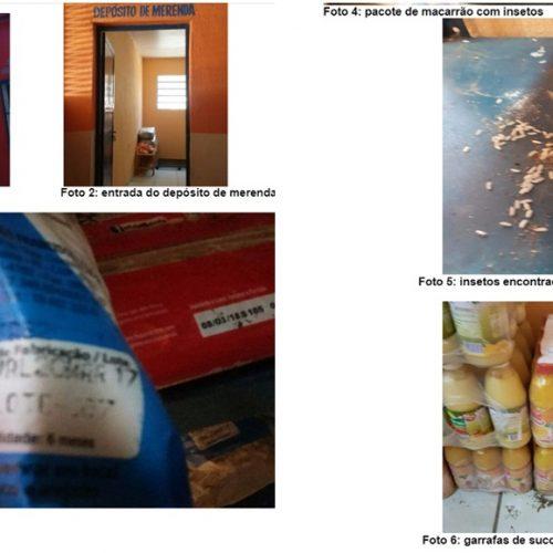 TCE encontra merenda escolar estragada em cidade do Piauí