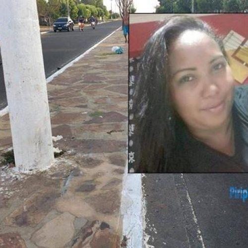 Mulher morre após colidir moto em poste em cidade do Piauí