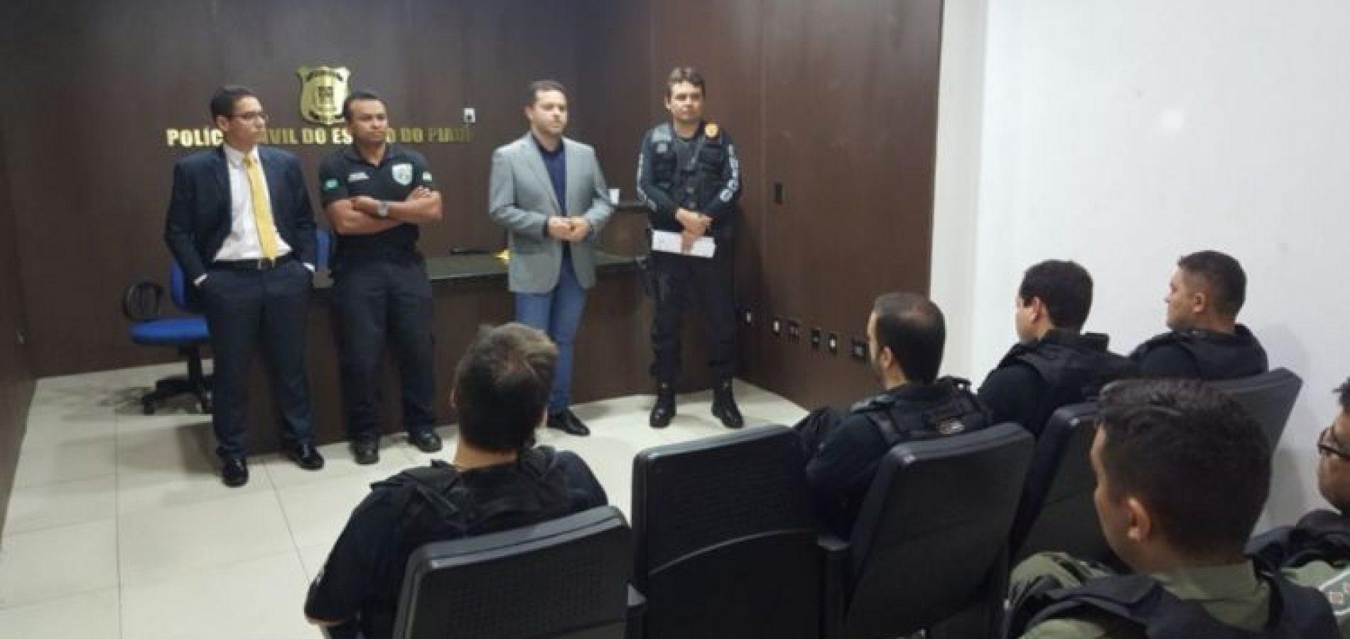 Em 14 operações deflagradas em agosto foram efetuadas 72 prisões no Piauí