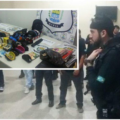 Polícia deflagra operação Dark Blue e prende universitário e mais quatro por tráfico de drogas