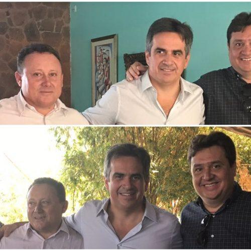 Prefeito de Vila Nova busca investimentos para o município, em novo encontro com Ciro Nogueira e Nerinho