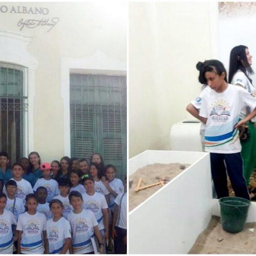 VILA NOVA | Alunos da escola Sabino Gomes de Lima visitam o museu Ozildo Albano em Picos
