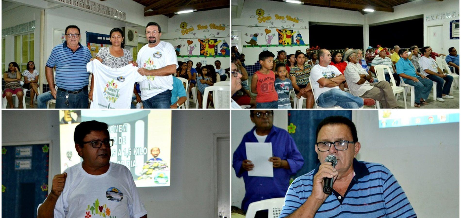 Prefeitura de Francisco Macedo lança importante Programa de Coleta de Seletiva e sustentabilidade; veja fotos