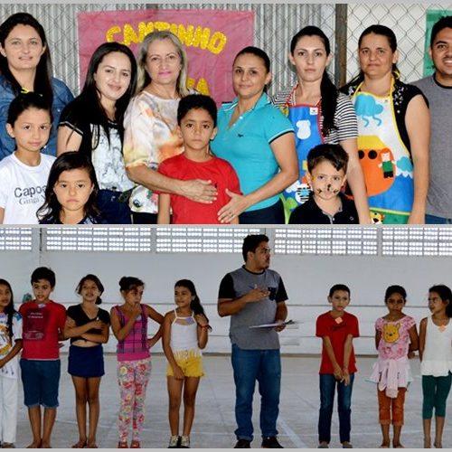 Secretaria de Assistência Social de Vila Nova do Piauí realiza 1ª gincana estudantil com alunos do SCFV