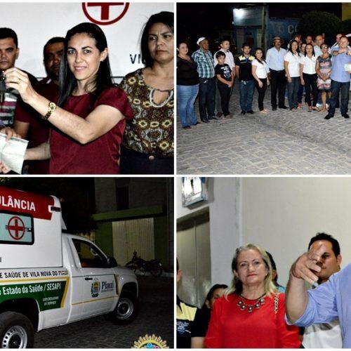 VILA NOVA   Prefeito Edilson Brito entrega ambulância 0 Km para a rede municipal de saúde; veja fotos
