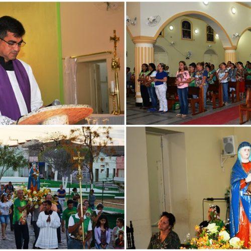 Alvorada festiva abre a 107ª Festa de Nossa Senhora do Perpétuo Socorro em Fronteiras