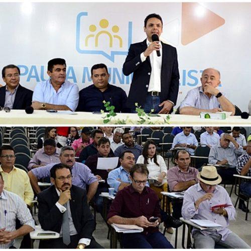 'I Movimento Municipalista' reúne cerca de 30 prefeitos em Picos