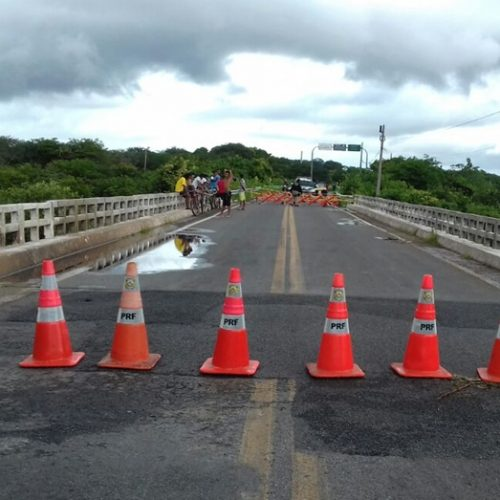 Ponte da BR-402 entre Piauí e Ceará será interditada para conclusão de obra