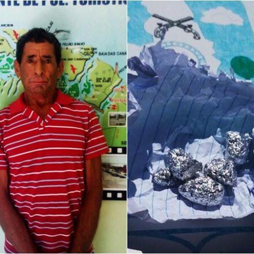 Proprietário de bar é preso com maconha e crack em município do Piauí