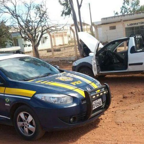 PRF prende homem com veículo roubado em Marcolândia