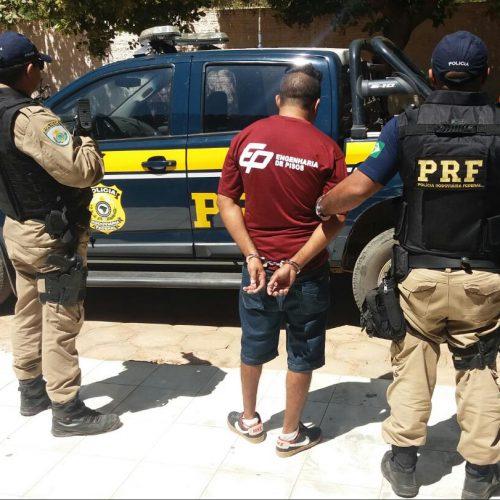 Suspeito de assalto a banco é preso pela PRF em cidade do Piauí