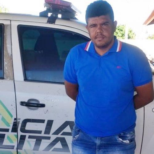 Suspeito de dupla tentativa de homicídio em Araripina é preso pela Polícia Militar em Jaicós